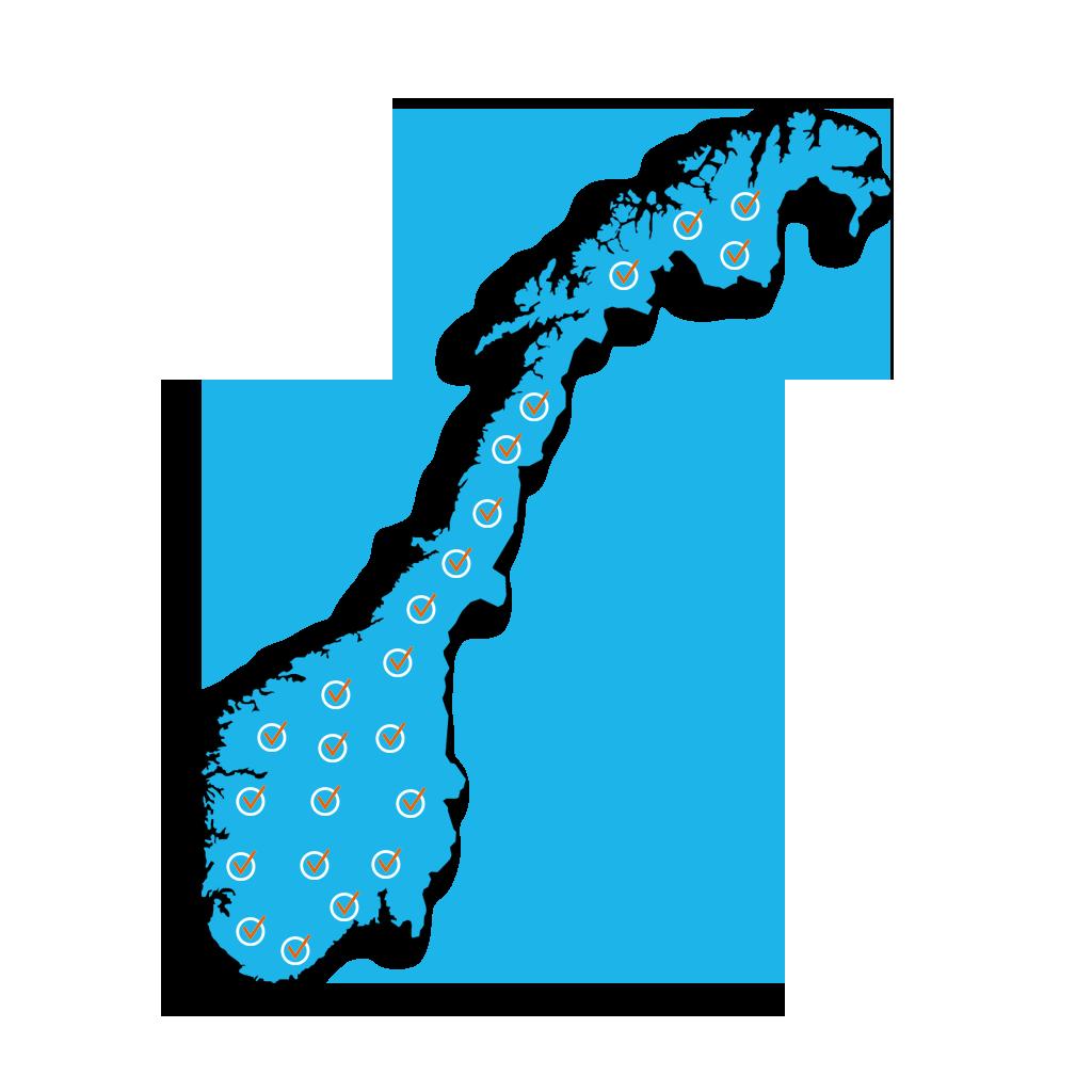 Accept - Norge EXTRA CHECKS